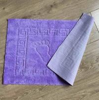 Bath mat Vende rubbered Foot Lilac фото