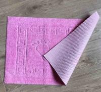Коврик для ванной комнаты Vende прорезиненные Ножки розовый фото