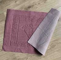 Коврик для ванной комнаты Vende прорезиненные Ножки грязно розовый фото