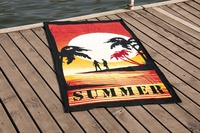 Beach towel Vende velour Sumer фото