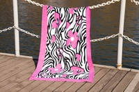 Beach towel Vende velour Good Mood фото