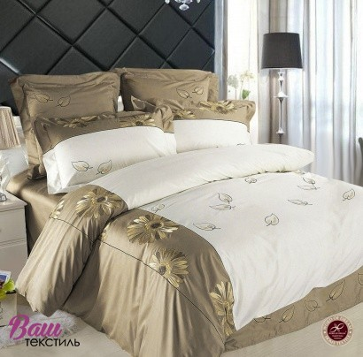 Bed linen set Word of Dream B063 Sateen with embroidery  фото