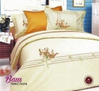 Bed linen set Word of Dream B058 Sateen with embroidery фото