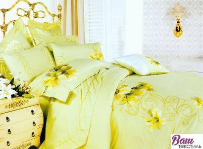 Комплект постельного белья Word of Dream BXZ001 Сновидение Сатин с вышивкой фото