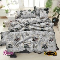 Bed linen set ZASTELLI 40-1073 Grey Cotton Gold USA фото