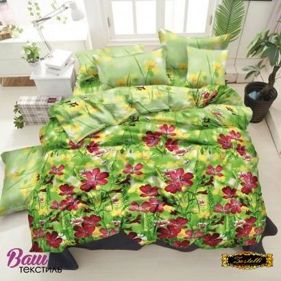 Bed linen set ZASTELLI 20-1311 Purple Cotton Gold  фото
