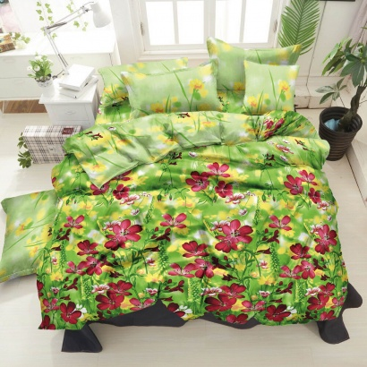 Bed linen set ZASTELLI 20-1311 Purple Cotton Gold  фото 2