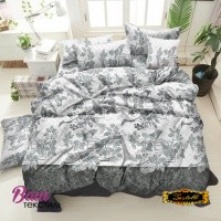 Bed linen set ZASTELLI 20-0471 Grey Cotton Gold USA фото