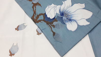 Bed linen set Word of Dream 005 Sateen with embroidery фото 5
