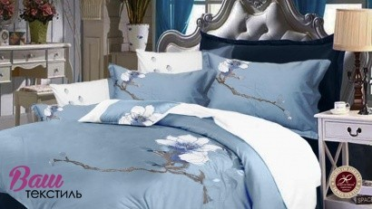 Bed linen set Word of Dream 005 Sateen with embroidery фото