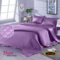 Silk Bed Linen Set Violet Zastelli Orchid lilac фото