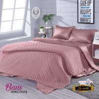 Silk Bed Linen Set Violet Zastelli Geraldine peach фото