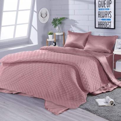 Silk Bed Linen Set Violet Zastelli Geraldine peach фото 2