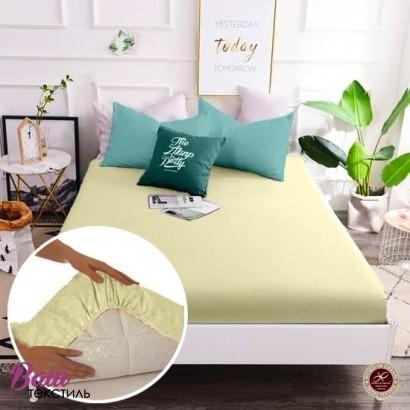 Fitted sheet Word of Dream Percale ivory фото