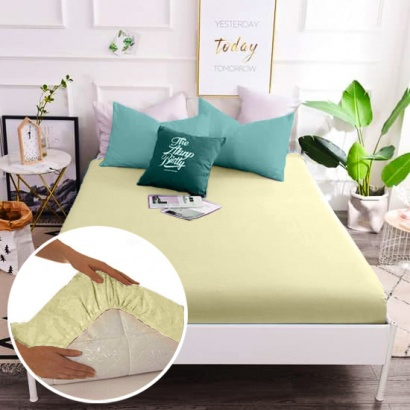 Fitted sheet Word of Dream Percale ivory фото 2