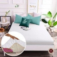 Fitted sheet Word of Dream Percale white фото