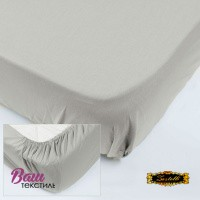 Fitted sheet Jersey-rolled ZASTELLI Grey фото