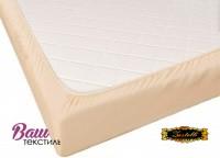 Fitted sheet Jersey-rolled ZASTELLI 160х200 Light Beige фото