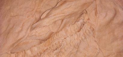 Fitted sheet Jersey-rolled ZASTELLI Beige фото 2
