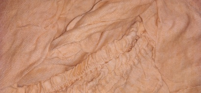 Простынь на резинке Джерси-роллы ZASTELLI Beige фото 2