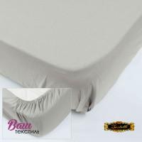 Fitted sheet Jersey-rolled ZASTELLI 180х200 Grey фото