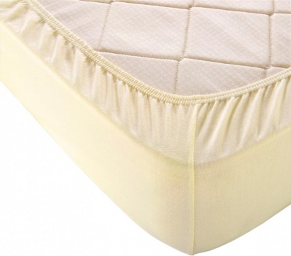 Fitted sheet Jersey-rolled ZASTELLI Ivory фото 5