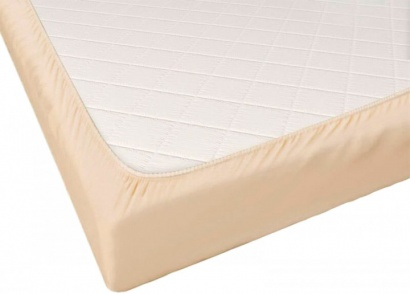 Fitted sheet Jersey-rolled ZASTELLI Light Beige фото 3