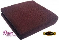 Plaid ZASTELLI Matis cotton Chocolate фото