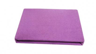 Простынь на резинке Джерси ZASTELLI фиолетовая фото 2