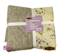 Two-sided quilted Bedspread ZASTELLI 5258 Calico фото