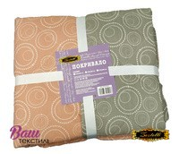 Two-sided quilted Bedspread ZASTELLI Bubble Calico фото