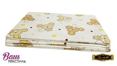 Постільна білизна для новонароджених Zastelli 17 Мишенята бязь фото 4