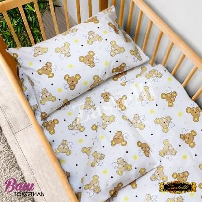 Постільна білизна для новонароджених Zastelli 17 Мишенята бязь фото