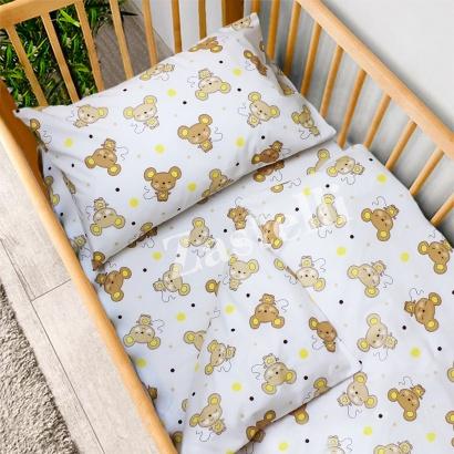 Постільна білизна для новонароджених Zastelli 17 Мишенята бязь фото 2