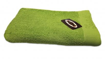 Пляжное полотенце ZASTELLI Border Зеленое махра фото 5