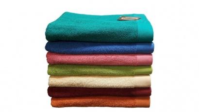 Пляжное полотенце ZASTELLI Border Зеленое махра фото 3