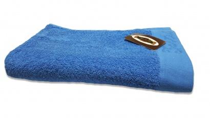 Пляжное полотенце ZASTELLI Border Синее махра фото 4