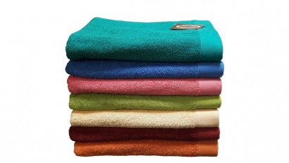 Beach terry solid color Towel Zastelli Border Orange фото 2