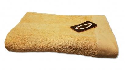 Пляжний рушник ZASTELLI Border Бежевий махра фото 5