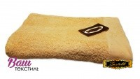 Beach terry solid color Towel Zastelli Border Beige фото