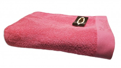 Beach terry solid color Towel Zastelli Border Pink фото 3