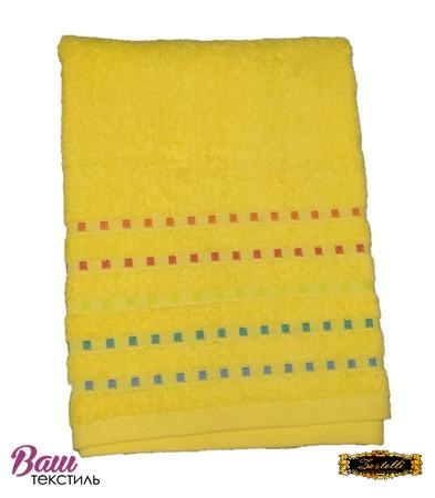 Bath terry towel Zastelli Mosaic Yellow фото