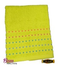 Bath terry towel Zastelli Mosaic Green фото
