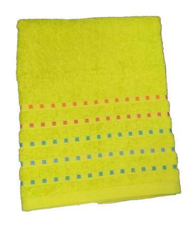 Bath terry towel Zastelli Mosaic Green фото 3