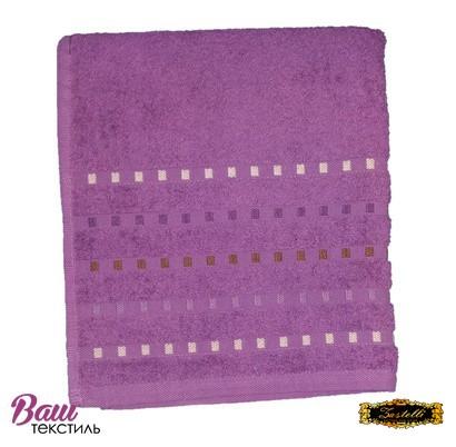 Bath terry towel Zastelli Mosaic Violet фото
