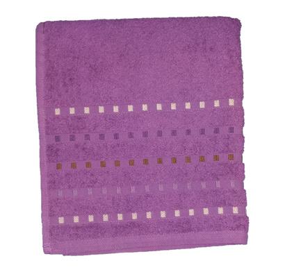Bath terry towel Zastelli Mosaic Violet фото 3