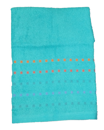 Bath terry towel Zastelli Mosaic Blue фото 4