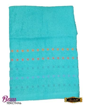 Bath terry towel Zastelli Mosaic Blue фото