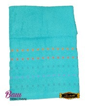 Bath terry towel Zastelli Mosaic Blue фото