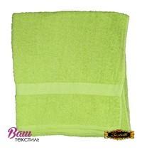 Банное полотенце ZASTELLI махровое Зеленое фото